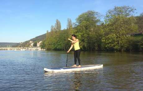 Stand-up-Paddling Mannheim