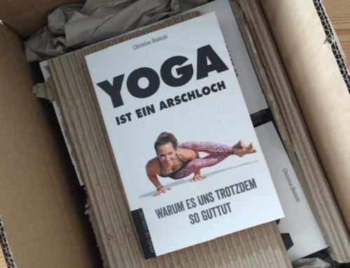 Buchtipp: Yoga ist ein Arschloch