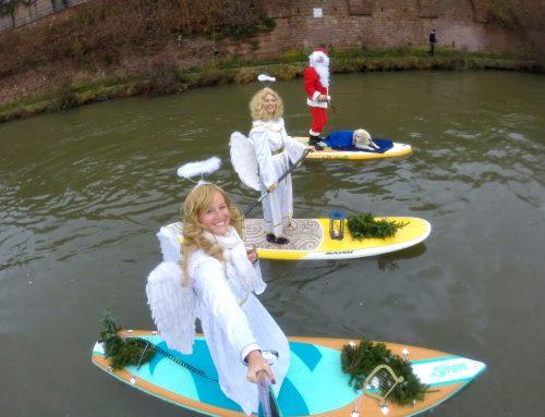 Einfach himmlisch: Heidelberger SUP-Weihnachtsaktion – Die Dritte