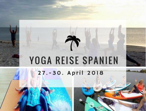 Yoga-Reise: Vier Tage Erholung, Spass, Yoga und Stand-up-Paddling. Bist du im April dabei?