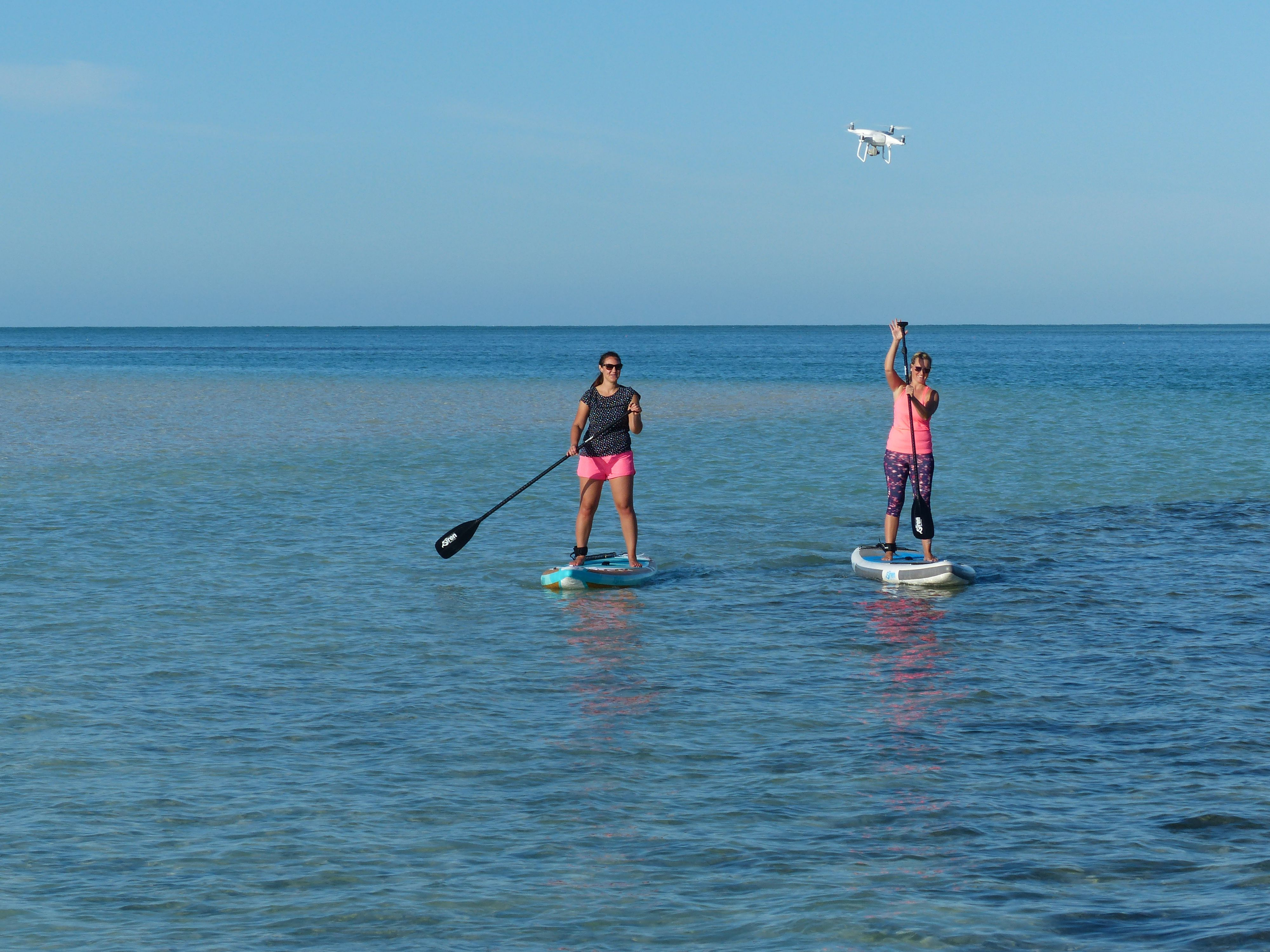Stand-up-Paddling Florida